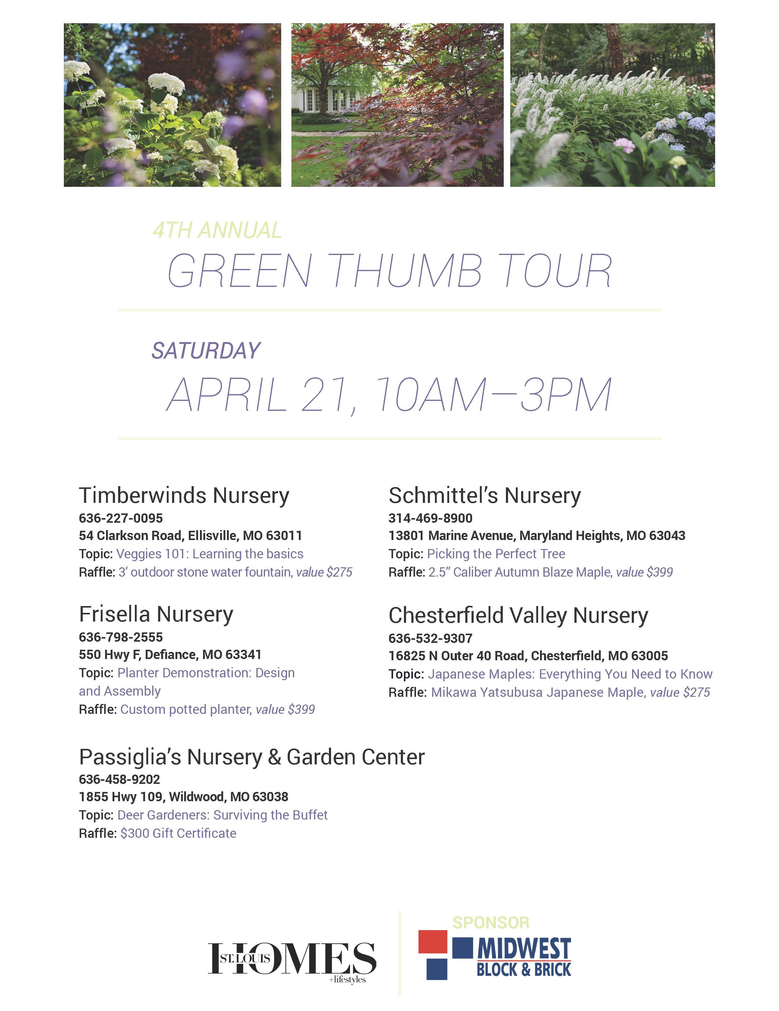 Green Thumb Tour
