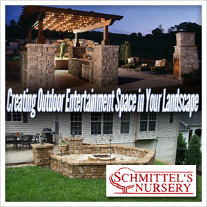 creating outdoor entertainment space in your landscape