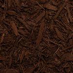 Dark Brown Dyed Mulch