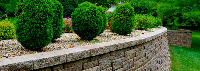 St Louis retaining walls by Schmittel's Nursery